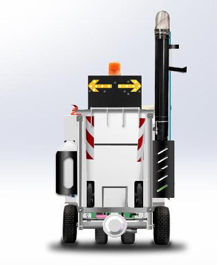路面清理机器人