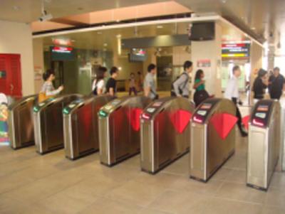 地铁出入口控制道闸机