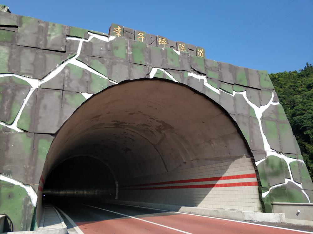 四川李子坪隧道智能灯指引系统